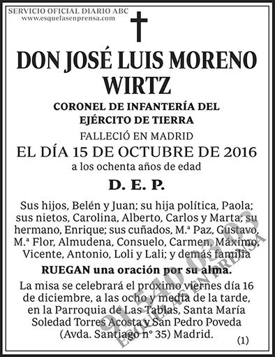 José Luis Moreno Wirtz